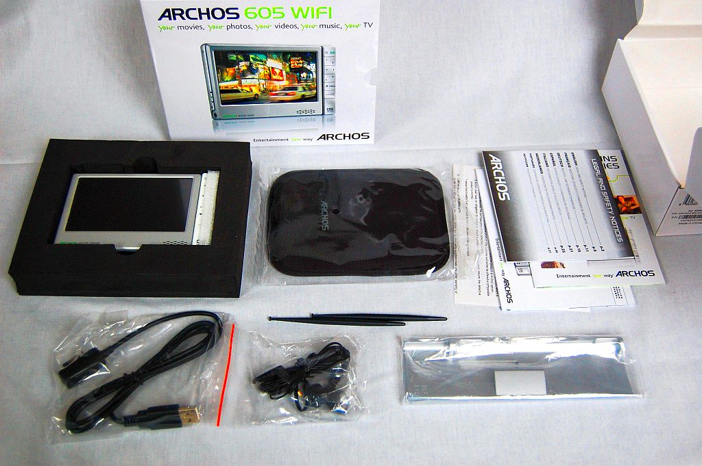 Archos 605 Wifi 160gb Updated With Photos Rc