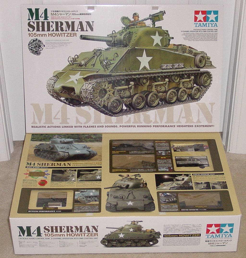 rc build kits with Tamiya Sherman Full Option Rc Kit on Watch likewise Wild Thing Kit also Build The R2 D2 moreover File Honda RC149 furthermore Lipo Battery Charger Reviews.