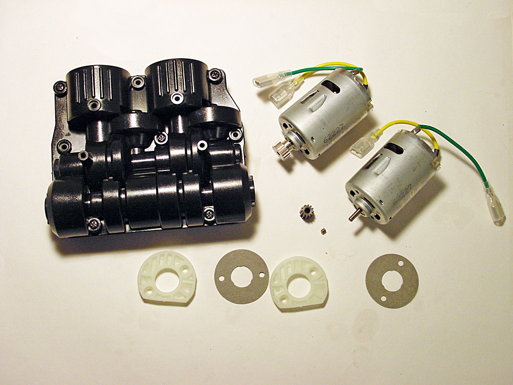 Rc Grabbagcom Tank Circuit Both Motors Are 540 Sized Which Is Also Different That Tamiyas Other Tanks Use Two 380