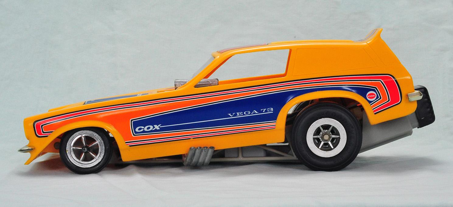 Cox Vega Funny Car (1972) | RC/GrabBag.com