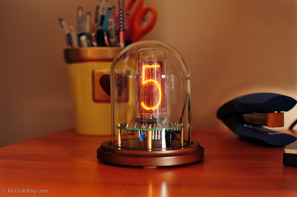 Single Tube Nixie Clock | RC/GrabBag com