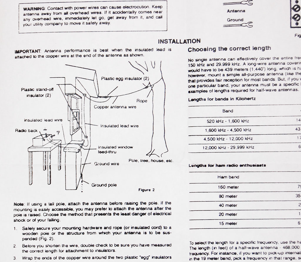Rc Grabbagcom Crystal Radio Wiring Diagrams The Borden Company Offers A Pretty Nice Antenna Kit That Works Well With All Of Their Kits It Has Parts You Need To Construct An Efficient